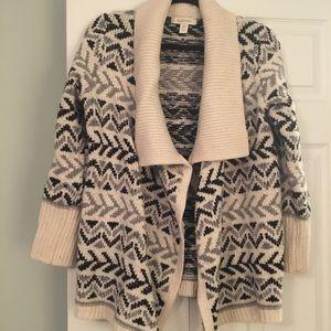 Cozy wool sweater!